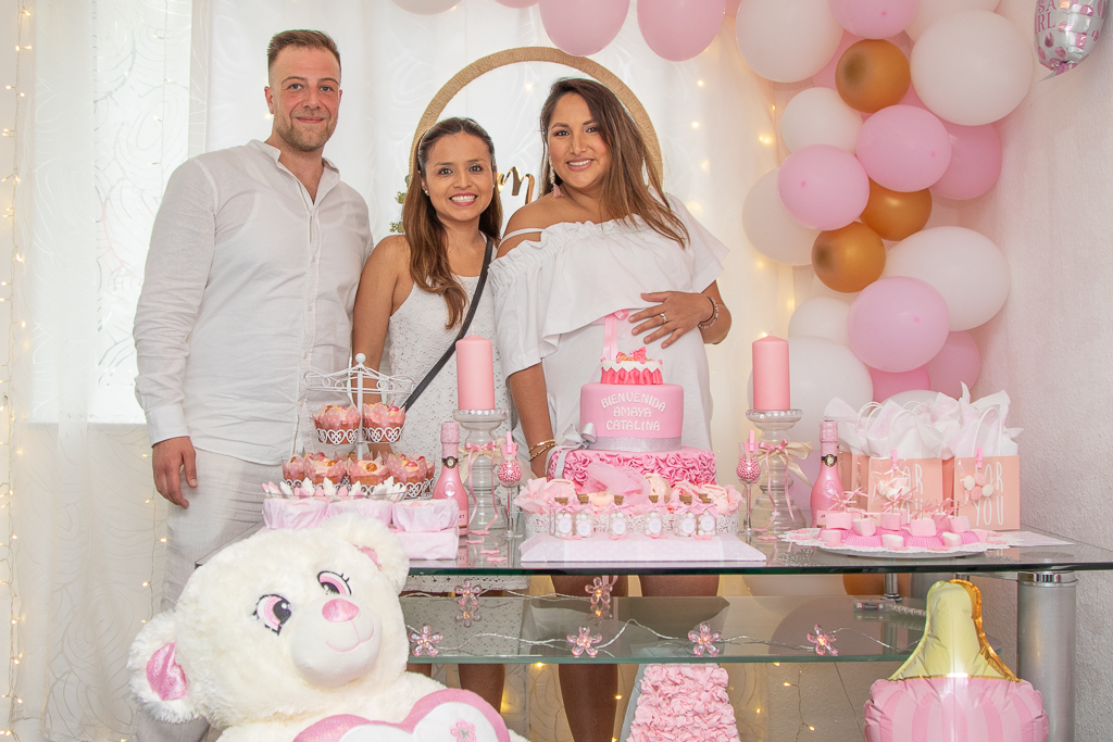 Baby Shower und Kommunion